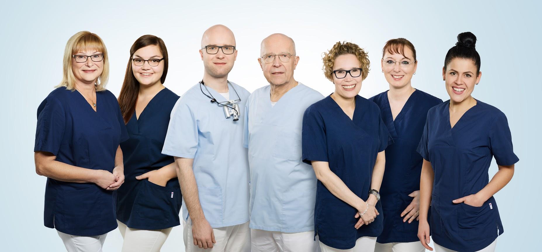 Das sympathische Team Zahnarzt Dr.Kracht Duisburg